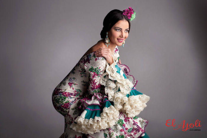 traje flamenca seguirilla
