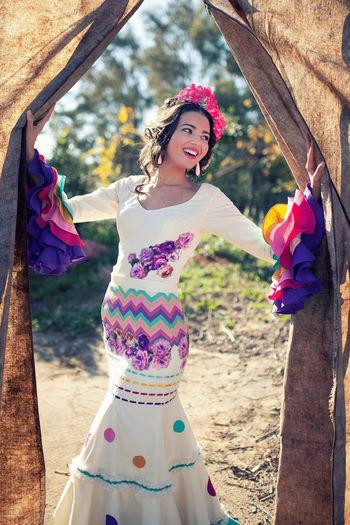 traje flamenca la bella