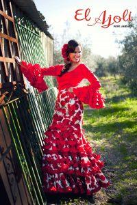 Traje de flamenca para la Feria de Agosto