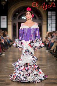 Traje de flamenca para la Feria de Málaga, modelo Alboroto